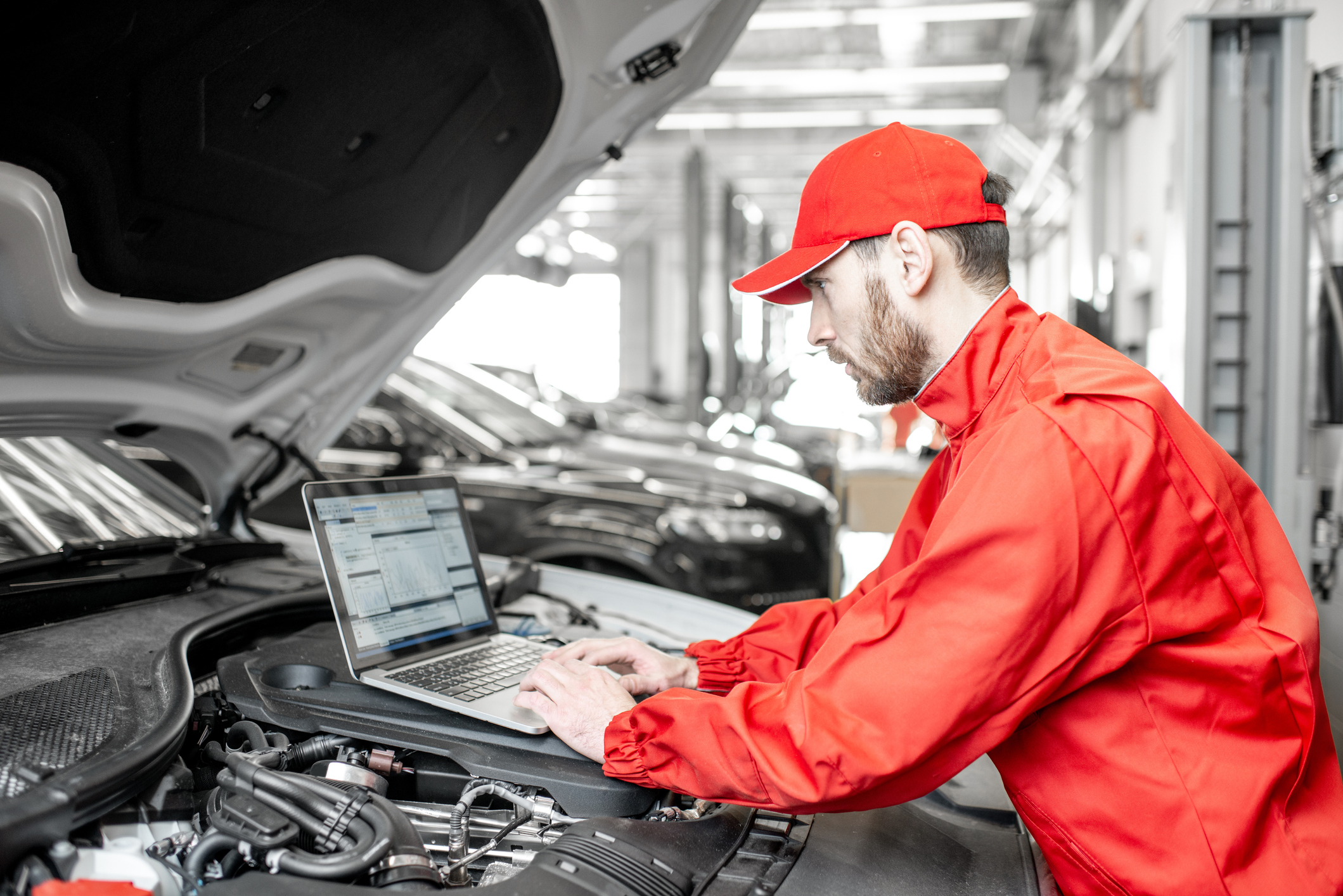 Scheller Automotive in Lexington, Kentucky works on numerous vehicles with the use of quality truck service equipment.